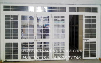Safety Doors Steel Window Door Frames Manufacturer